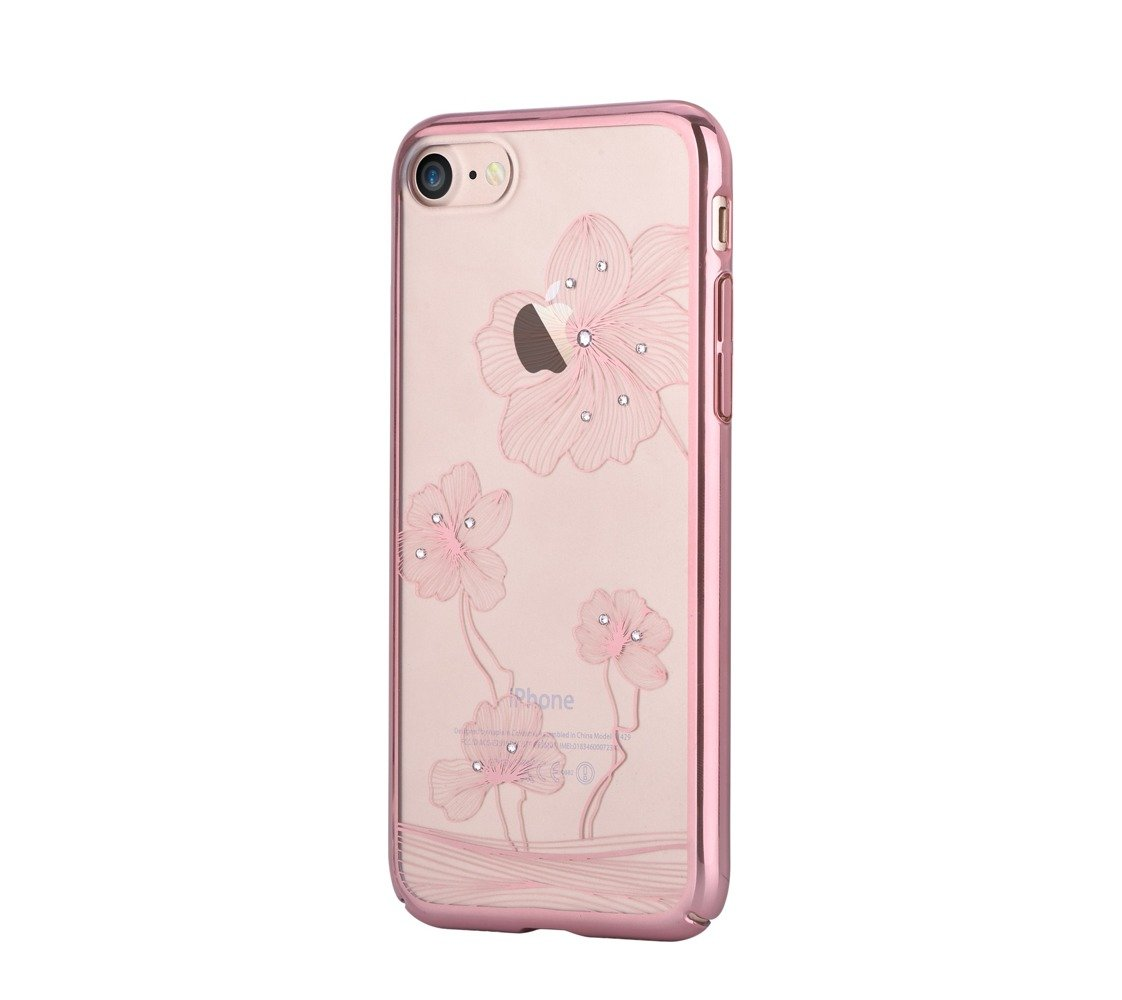 comma crystal flora 360 for iphone 7 rose gold rose gold iphone iphone 7 iphone iphone 8. Black Bedroom Furniture Sets. Home Design Ideas