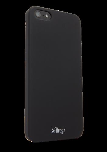 etui dla iphone 5 5s ifrogz ultra lean deluxe czarny. Black Bedroom Furniture Sets. Home Design Ideas