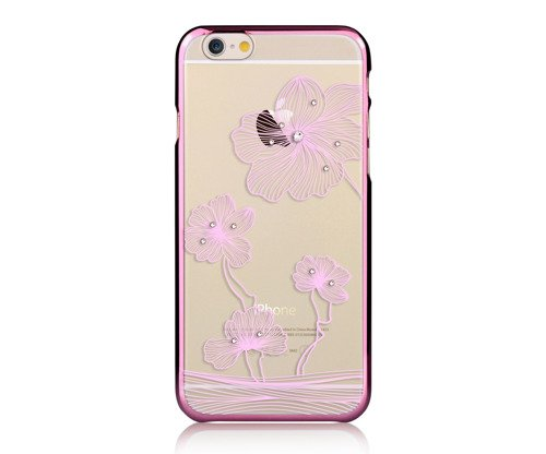 Comma Crystal Flora 360  for iPhone6S/6 Rose