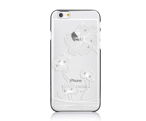 Comma Crystal Flora 360  for iPhone6S/6 Silver