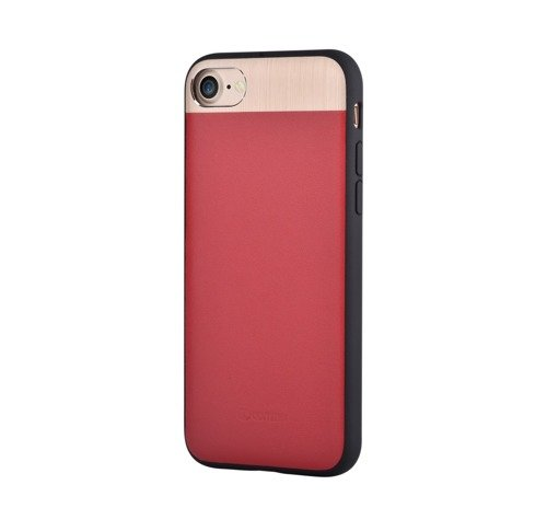 Comma Vivid Leather Case (czerwony) - Etui dla iPhone 7