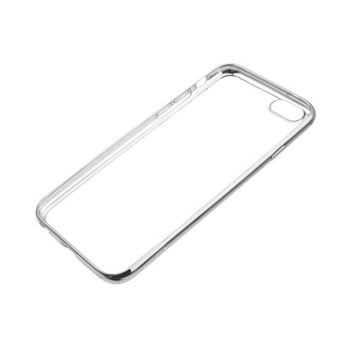 Etui JCPAL dla iPhone 6 / 6s - Crystal TPU Plated Case (Silver)