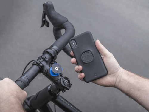 Quad Lock Bike Kit for iPhone X - Uchwyt rowerowy z etui dla iPhone X